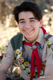 Michael Higgins earned the rank of Eagle Scout!